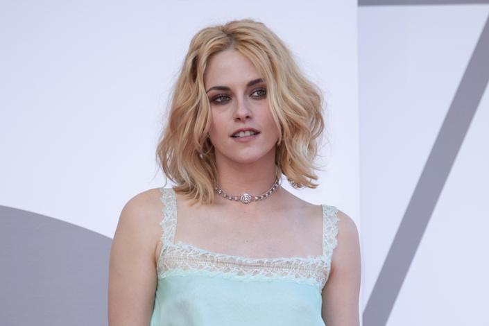 Kristen Stewart attending the Spencer Premiere as part of the 78th Venice International Film Festival in Venice, Italy on September 03, 2021. Photo by Paolo Cotello/imageSPACE/Sipa USA