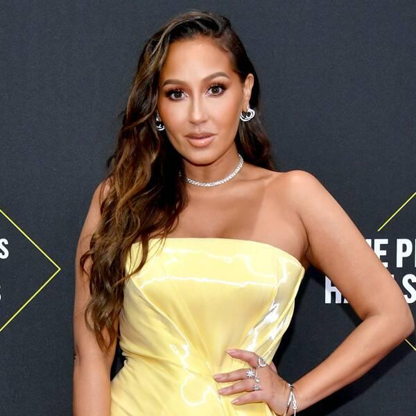 Adrienne Bailon Shows Off 20-Pound Weight Loss as She Poses in a Bikini