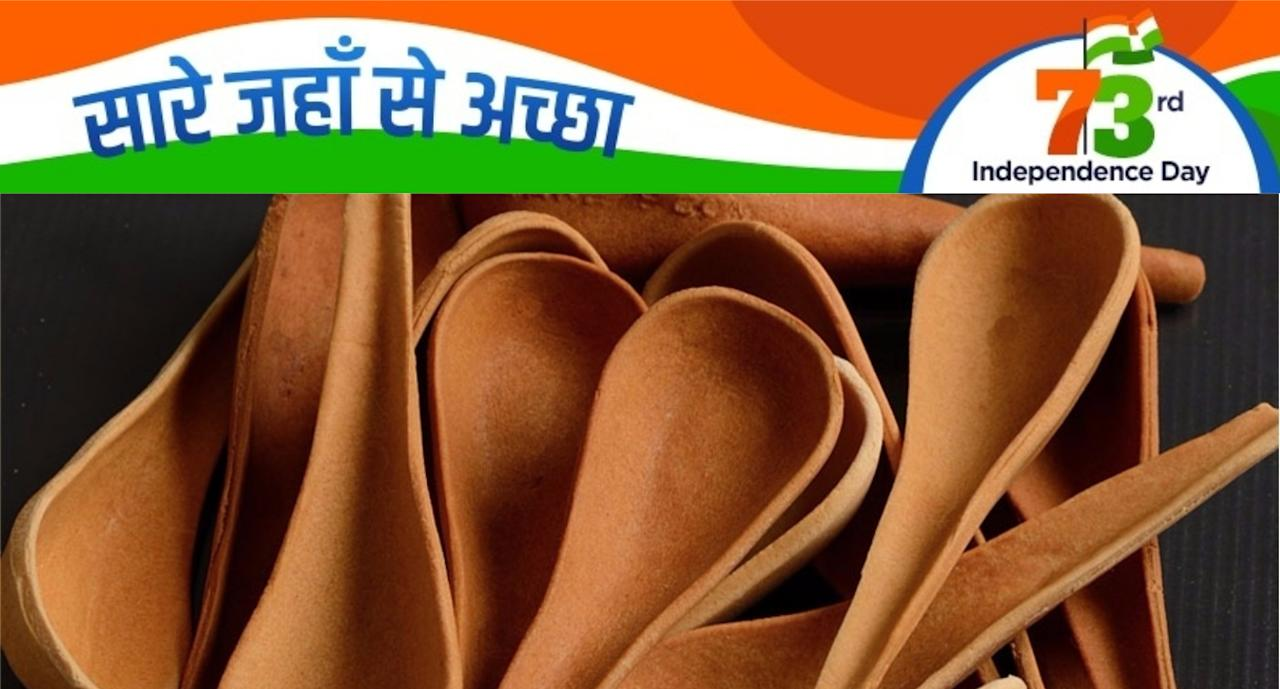 Edible Cutlery – Narayana Peesapathy started work on his edible spoons and forks in 2010 and now markets them under the brand name Bakeys across the world. Source: http://www.thebetterindia.com/30465/edible-cutlery-in-india/