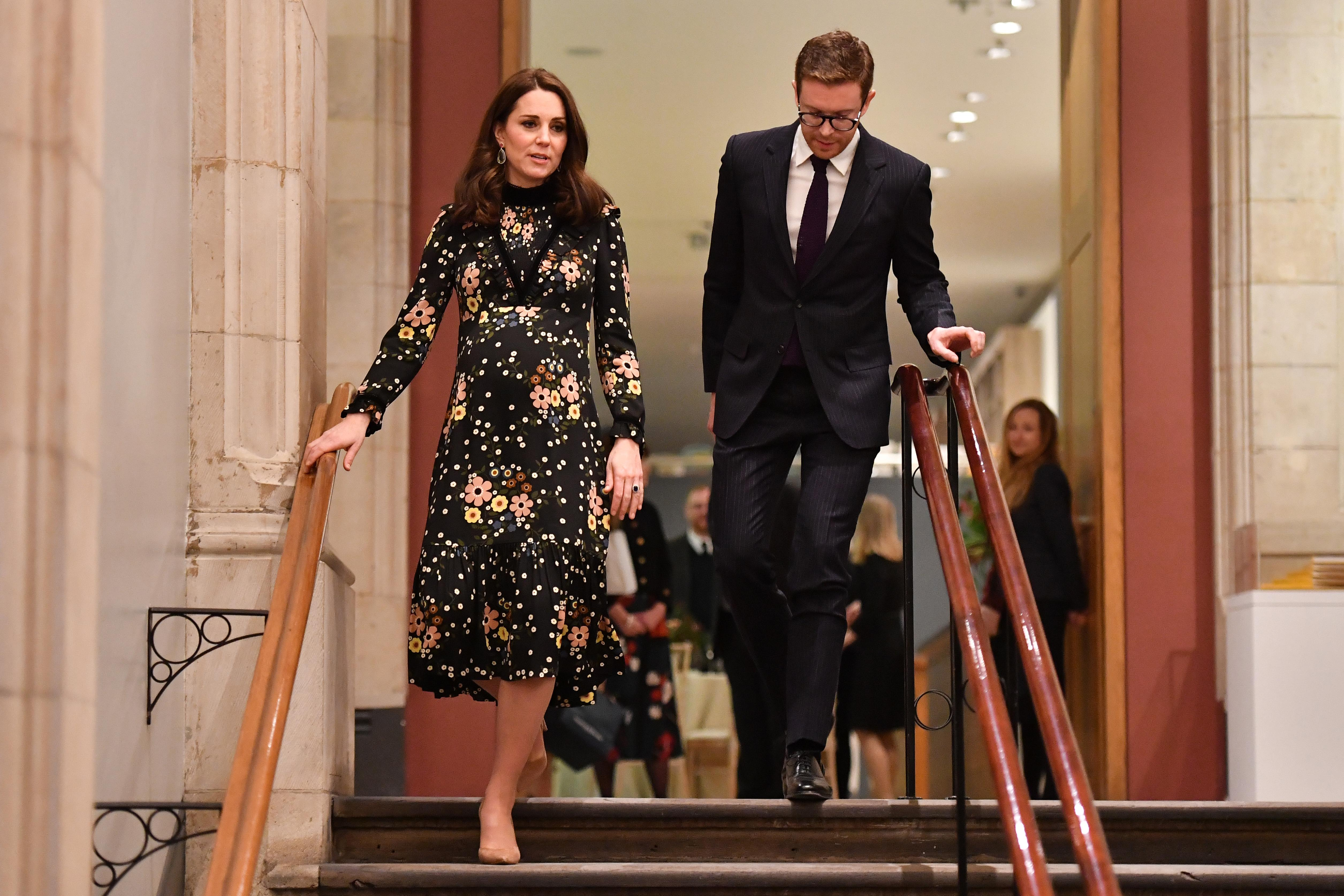 Kate Middleton's Style at the National Portrait Gallery in London.