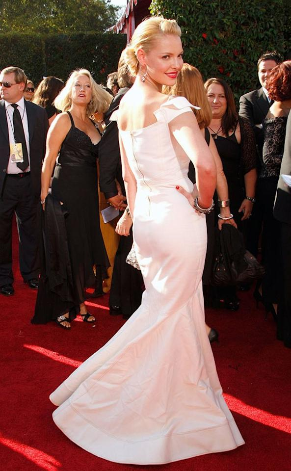 BEST: Katherine Heigl arrives at the 59th Annual Primetime Emmy Awards at the Shrine Auditorium on September 16, 2007.
