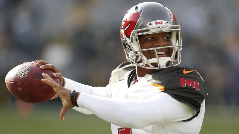 Tampa Bay Buccaneers quarterback Jameis Winston's season didn't go as planned. (AP)