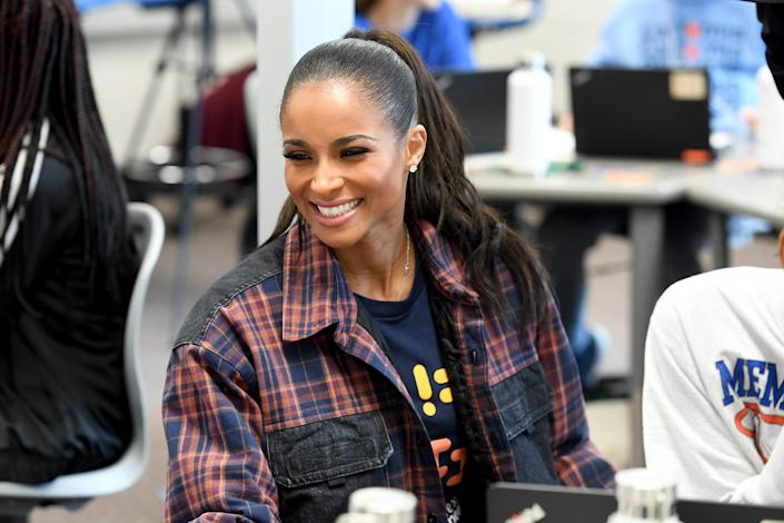 """Welcoming her third child during a pandemic, """"it's a blessing to know that we were able to have a healthy baby and a safe delivery,"""" Ciara told USA TODAY."""