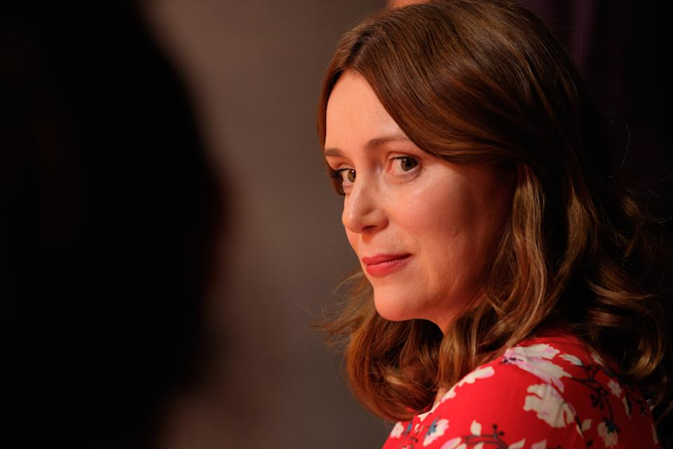 <p>Keeley Hawes in Finding Alice</p> (ITV)