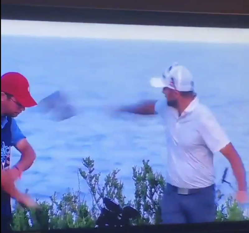 Web.com Tour player fires headcover at caddie who was called for ...
