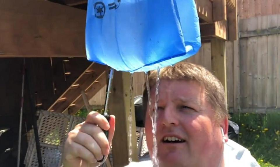 Cool down or clean up with this DIY outdoor shower