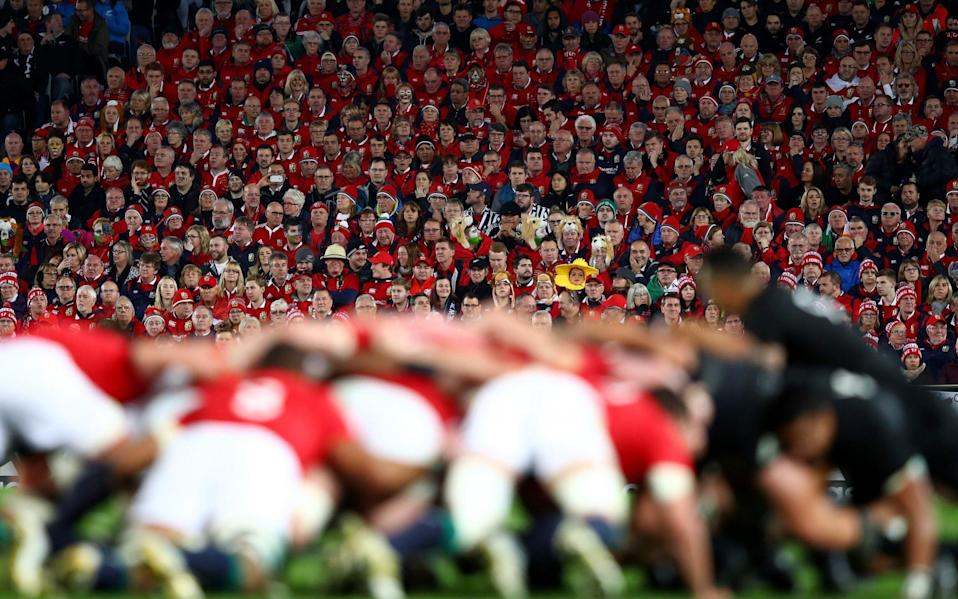All matches on the Lions tour are set to go ahead behind closed doors - GETTY IMAGES