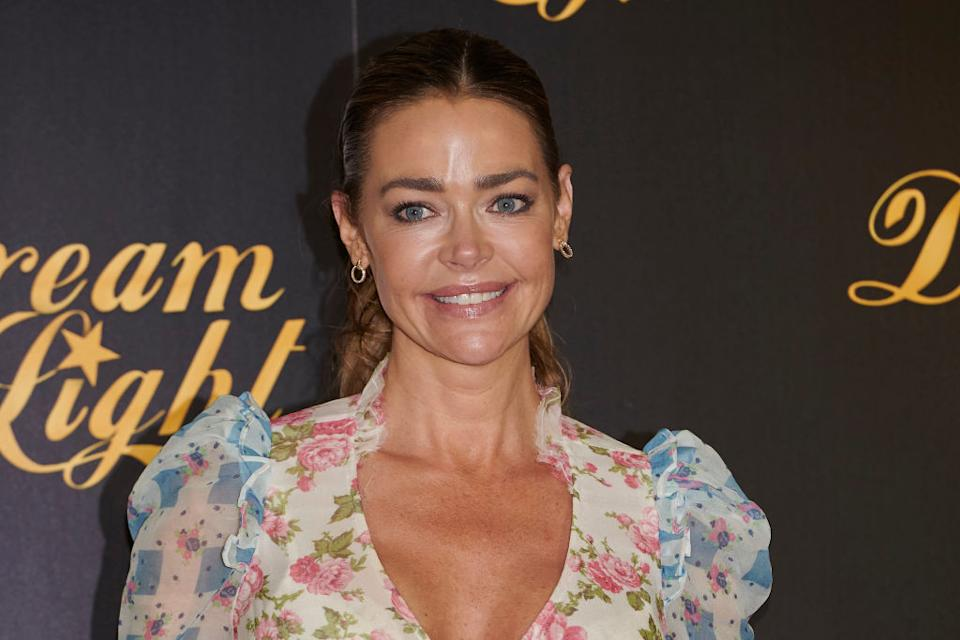 Denise Richards shares two daughters with ex-husband Charlie Sheen.  (Photo: Carlos Dafonte/NurPhoto via Getty Images)