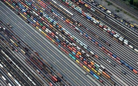 Euro zone trade surplus surges as imports drop, GDP and employment in record fall