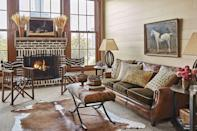 <p>Outfit your mantel with bunches of affordable wheat stalks—one of fall's most popular decorations. </p>