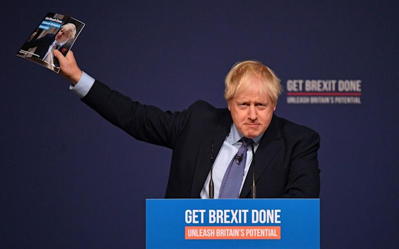 Boris Johnson wants a vote on his Brexit deal before Christmas - AFP