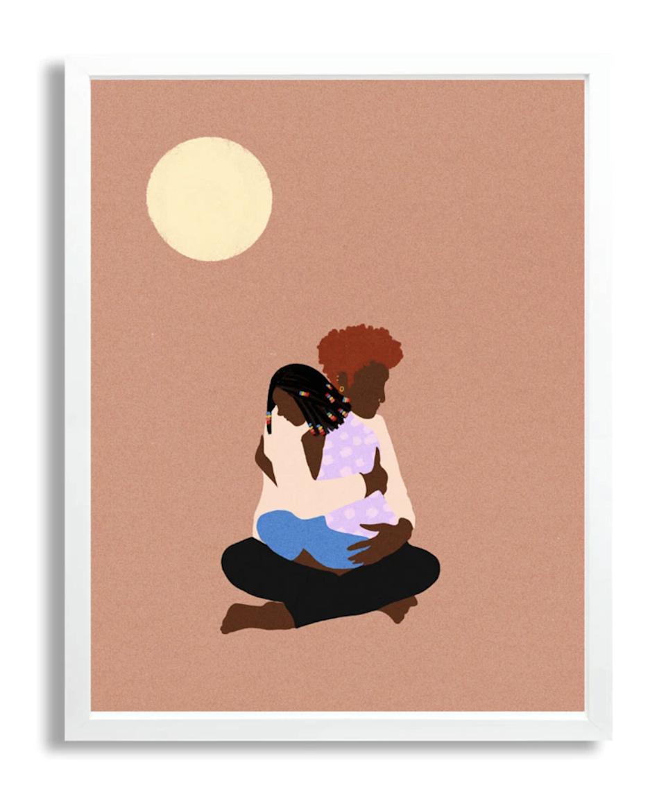 """Project 2021 is selling prints contributed by black artists to raise money for the antiracism movement. This 11x14"""" piece is by Shanee Benjamin, a design director and illustrator based in Brooklyn. All net proceeds from your purchase will go to <a href=""""https://blacklivesmatter.com/"""" rel=""""nofollow noopener"""" target=""""_blank"""" data-ylk=""""slk:Black Lives Matter"""" class=""""link rapid-noclick-resp"""">Black Lives Matter</a>. $30, Project 2021. <a href=""""https://project2021.com/products/copy-of-bria-corranda-for-black-lives-matter"""" rel=""""nofollow noopener"""" target=""""_blank"""" data-ylk=""""slk:Get it now!"""" class=""""link rapid-noclick-resp"""">Get it now!</a>"""
