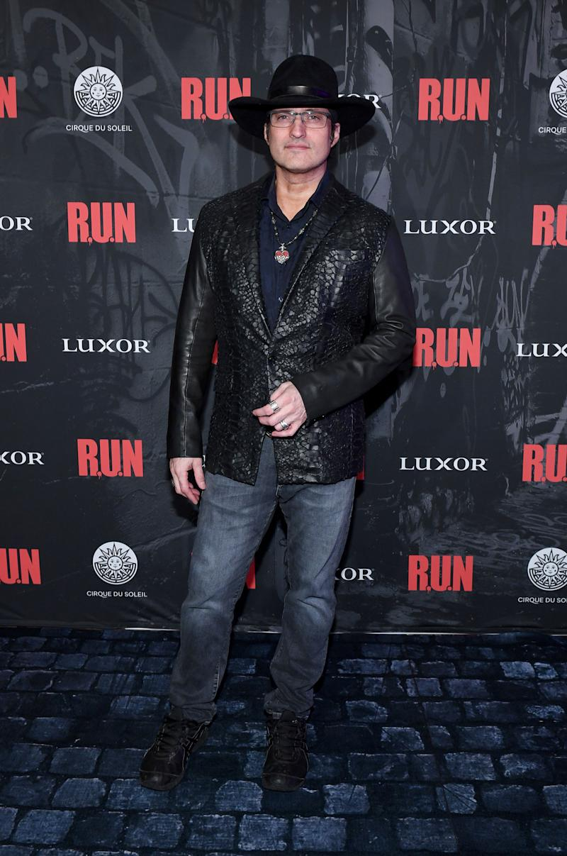 Robert Rodriguez, World-Famous Director and Writer of R.U.N Attends World Premiere at Luxor Hotel, Nov. 14
