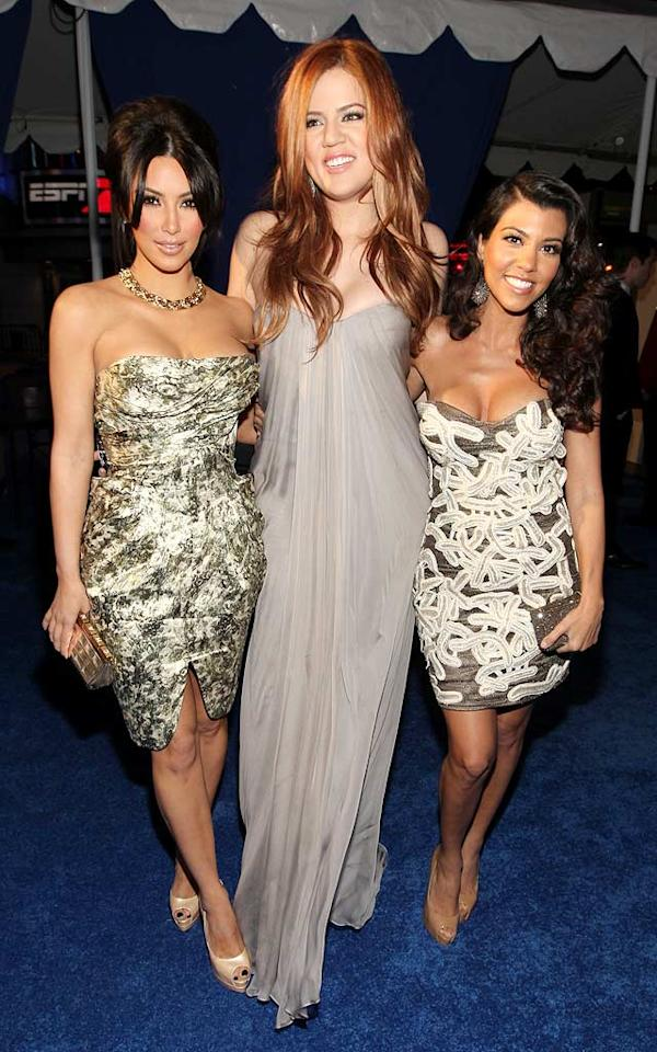 """Khloe Kardashian debuted a new 'do upon arriving at the 37th Annual People's Choice Awards in downtown Los Angeles alongside her sisters, Kim and Kourtney. Which Kardashian do you think was best-dressed? Christopher Polk/<a href=""""http://www.gettyimages.com/"""" target=""""new"""">GettyImages.com</a> - January 5, 2011"""