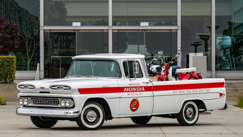 Chevy Truck Restored By Honda