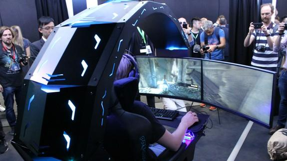 Stupendous Acers Predator Thronos Gaming Chair Is Insane And I Want It Uwap Interior Chair Design Uwaporg