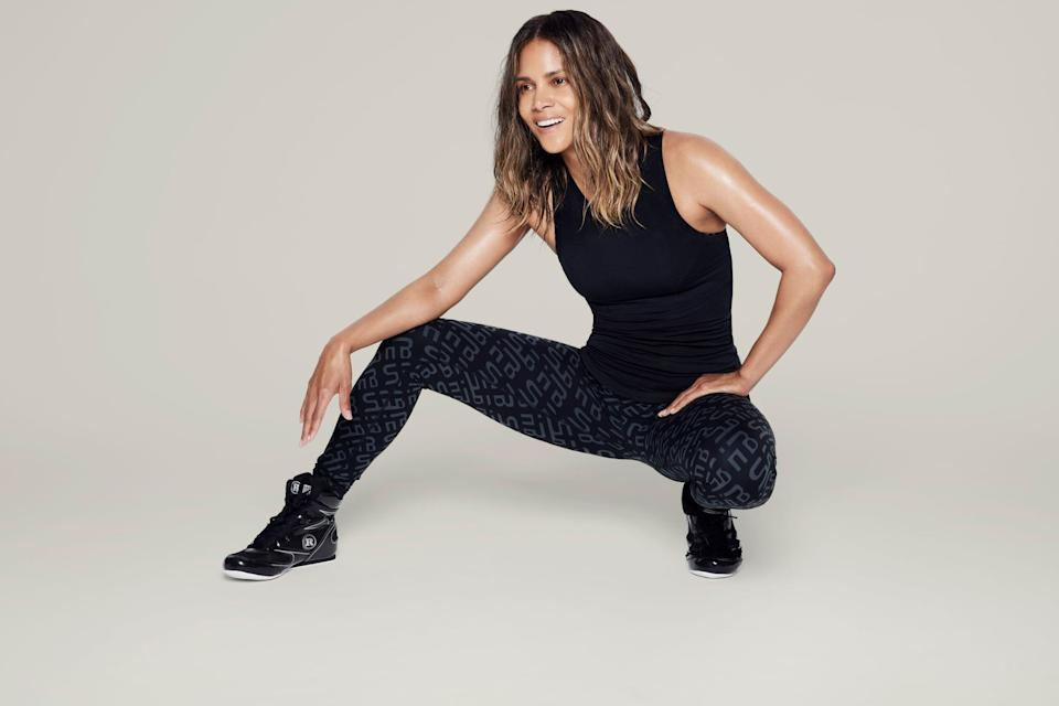 <p>If you want a classic workout look, go with this <span>Halle Berry x Sweaty Betty Frankie Racer Neck Tank</span> ($64) and <span>Halle Berry x Sweaty Betty Jinx Power Workout Leggings</span> ($100).</p>