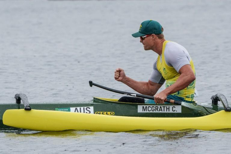 Curtis McGrath has another chance for gold in the VL3 category on Saturday (AFP/YASUYOSHI CHIBA)