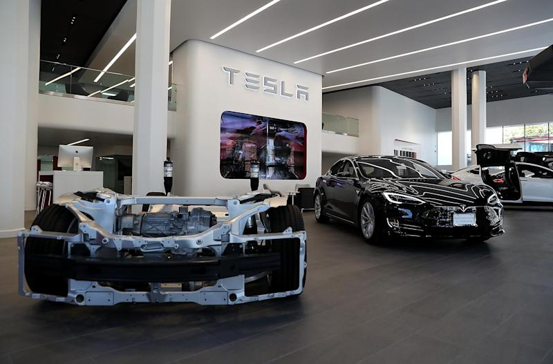 The update temporarily unlocked the full-battery potential for 75-kilowatt-hour Model S sedans and Model X SUVs, adding around 30 to 40 miles to their range: Getty