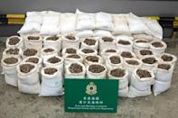 The amount of pangolin scales recovered in Hong Kong increased in 2017 after the CITES protection upgrade -- a total of 7.7 tonnes from 21 seizures compared to 1.4 tonnes in 2016 from 24 seizures