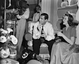 """<p>Grant set sights on his third wife, actress Betsy Drake, when he saw her in a London play. After meeting aboard the Queen Mary, she returned to Los Angeles with him to <a href=""""https://www.independent.co.uk/news/obituaries/betsy-drake-actress-and-writer-who-married-cary-grant-introducing-him-to-lsd-and-survived-the-a6739956.html"""" rel=""""nofollow noopener"""" target=""""_blank"""" data-ylk=""""slk:pursue a film career"""" class=""""link rapid-noclick-resp"""">pursue a film career</a>. The pair starred opposite one another in the 1948 film <em>Every Girl Should Be Married, </em>on Grant's instance, and Drake went on to secure a studio contract with RKO. </p>"""
