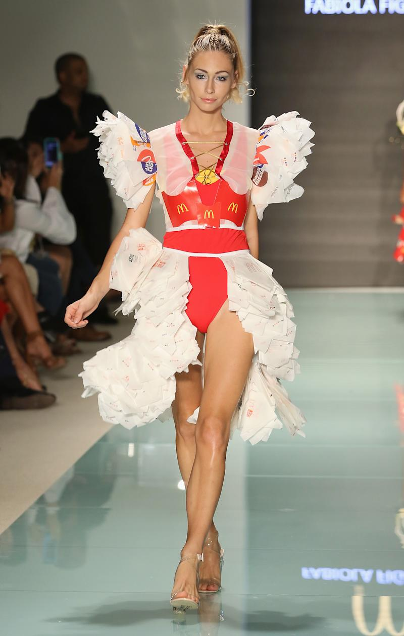Mcdcouture Students Unveil Designs Made Entirely From Mcdonald S Packaging