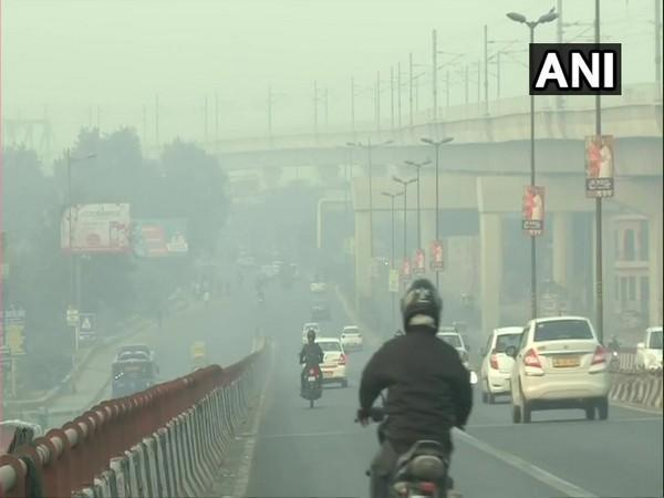 Visuals from Wazirpur area of New Delhi on Sunday morning. (Photo/ANI)