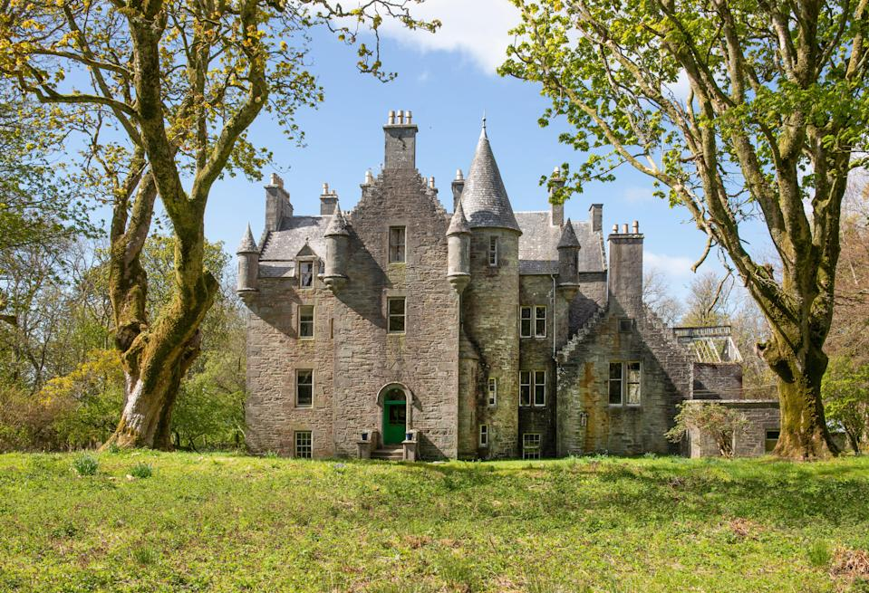 Kilberry Castle is for sale for £650,000 (Knight Frank)