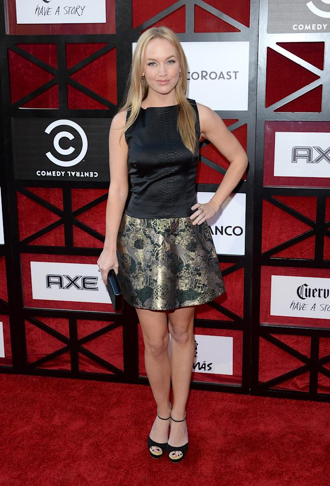 """Kelley Jakle attends """"The Comedy Central Roast of James Franco"""" at Culver Studios on August 25, 2013 in Culver City, California."""