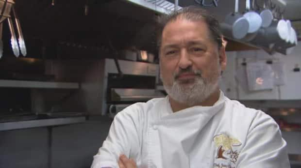 Award-winning Chelsea, Que., chef Jean-Claude Chartrand died on Tuesday. He's being remembered for embodying the hospitality of the industry he loved so much.   (Radio-Canada - image credit)