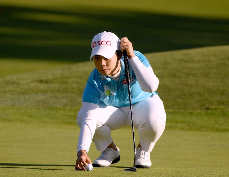 Moriya Jutanugarn of Thailand started quickly on the back nine with two birdies in her first four holes to reach a total of eight-under 134 after the second round of the LA Open
