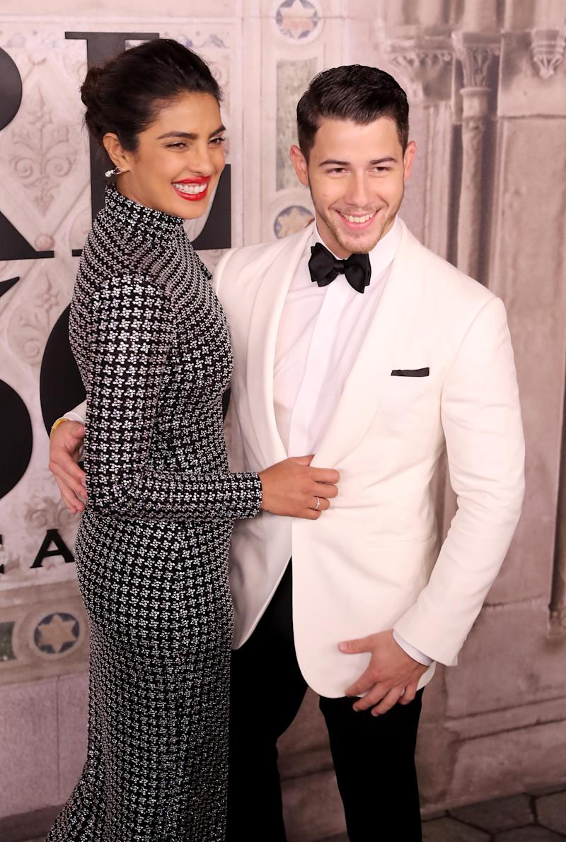 Nick Jonas and Priyanka Chopra (Getty Images)