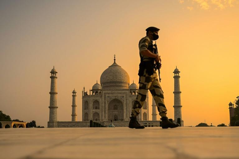 The Taj Mahal was closed in March last year, reopened in September, and then shut again in April 2021