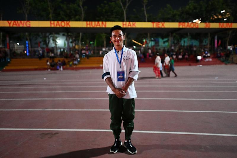 San Sai Aung is a UWSA soldier like his father (AFP Photo/Ye Aung THU)