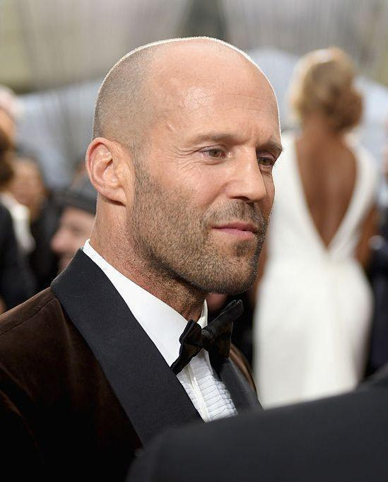<p>Like Willis, Statham has been blessed with the kind of head that is never conspicuous hairless. Quite the opposite, in fact. </p>