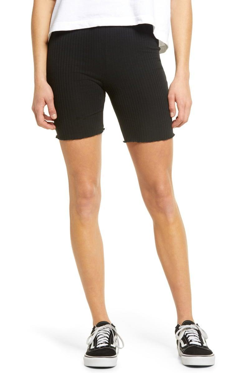 <p><span>BP. Ribbed Bike Shorts</span> ($10, originally $25)</p>
