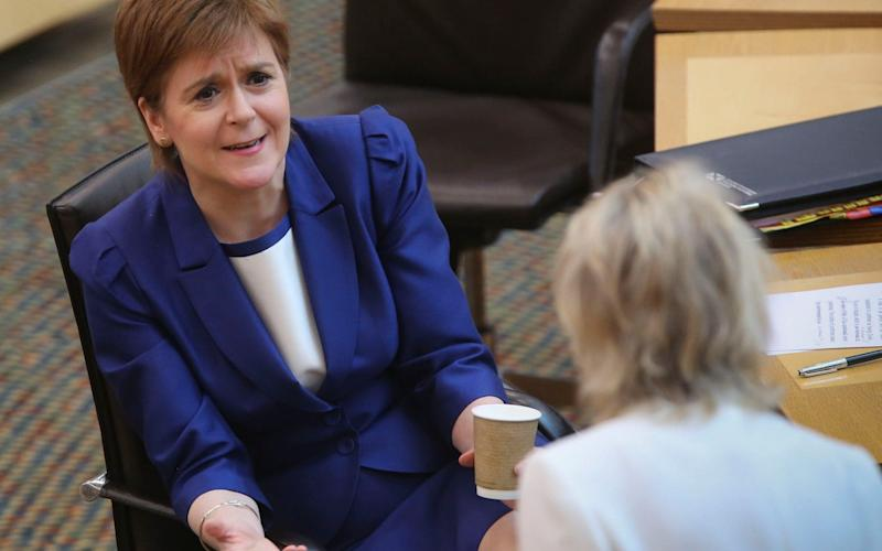 Nicola Sturgeon insisted she will do all she can to help pupils - PA