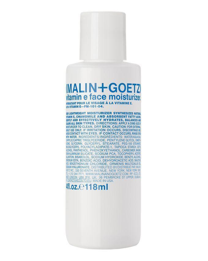 """<p><a class=""""link rapid-noclick-resp"""" href=""""https://www.cultbeauty.co.uk/malin-goetz-vitamin-e-face-moisturizer.html?ranMID=35269&ranEAID=a1LgFw09t88&ranSiteID=a1LgFw09t88-1LsBHjB6kjSH7RnJyDu2rA&siteID=a1LgFw09t88-1LsBHjB6kjSH7RnJyDu2rA&publisher_name=adgoal.net"""" rel=""""nofollow noopener"""" target=""""_blank"""" data-ylk=""""slk:SHOP"""">SHOP </a></p><p><strong><strong>Best post-shave moisturiser</strong></strong></p><p>Leaving behind a satisfying cooling sensation, this one's our top choice for calming skin from any razor-related issues. The texture is more lightweight than others on our list, too – so not the best if you're on the dryer side – but it might suit those who hate the sticky residue some moisturisers leave behind, and it did leave skin feeling super smooth. </p><p><strong>Key specs<br></strong><strong>Volume: </strong>118ml<br><strong>Contains SPF: </strong>No</p><p>Malin + Goetz Vitamin E Face Moisturiser, £42, cultbeauty.co.uk</p>"""