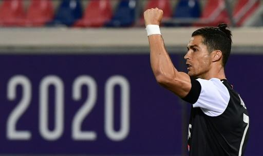 Cristiano Ronaldo's Juventus have a four-point lead as they target a ninth consecutive Serie A title