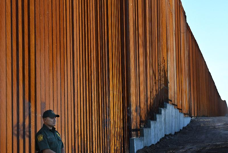 US President Donald Trump campaigned on a vow to clamp down on illegal immigration, including a signature promise to build a wall on the Mexican border