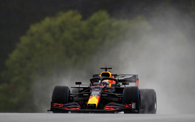 Red Bull's Dutch driver Max Verstappen during the qualifying for the Formula One Styrian Grand Prix on July 11, 2020 in Spielberg, Austria - AFP