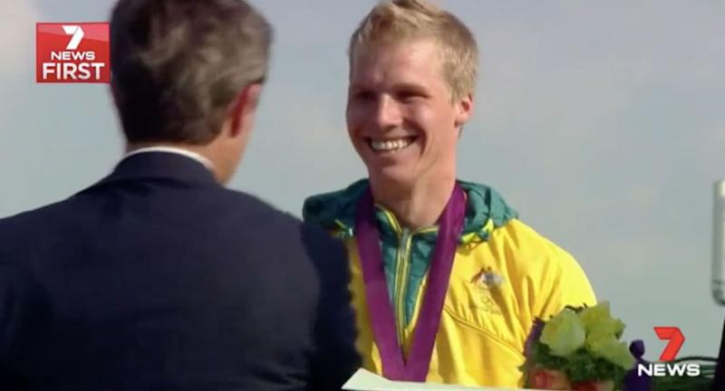 Sam Willoughby is an Olympic silver medal winning BMX rider. Source: 7 News