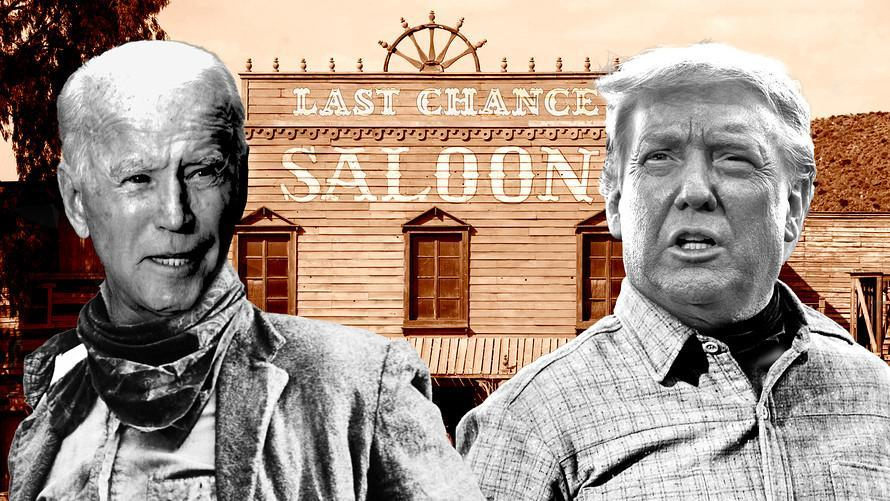 Tonight's presidential debate looks like the last-chance saloon for Trump, analysts say