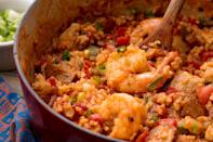 """<p>If you can't be in New Orleans, you can at least eat like you're there with these Creole-inspired recipes. For a full explanation of the difference between Cajun and Creole food, <a href=""""https://www.delish.com/food-news/a26429443/cajun-vs-creole-food/"""" rel=""""nofollow noopener"""" target=""""_blank"""" data-ylk=""""slk:head here"""" class=""""link rapid-noclick-resp"""">head here</a>, but know that both have Louisiana roots and are crazy flavorful. For even more NOLA-inspired recipes, check out our <a href=""""https://www.delish.com/entertaining/g2166/mardi-gras-food-recipes/"""" rel=""""nofollow noopener"""" target=""""_blank"""" data-ylk=""""slk:amazing Mardi Gras food ideas"""" class=""""link rapid-noclick-resp"""">amazing Mardi Gras food ideas</a>!</p>"""