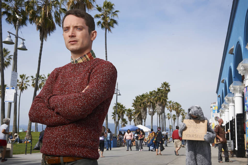 "Elijah Wood as Ryan Newman in FX's ""Wilfred"" Season 3."