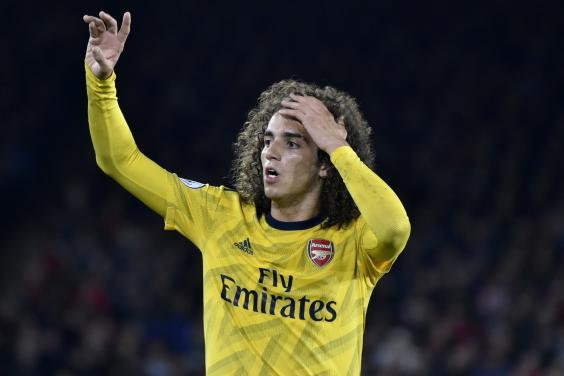 Guendouzi has been the most impressive of Arsenal's midfield contingent (AP)