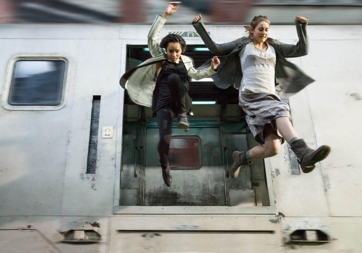 Divergent... studio reportedly regret turning last movie into two parts - Credit: Lionsgate