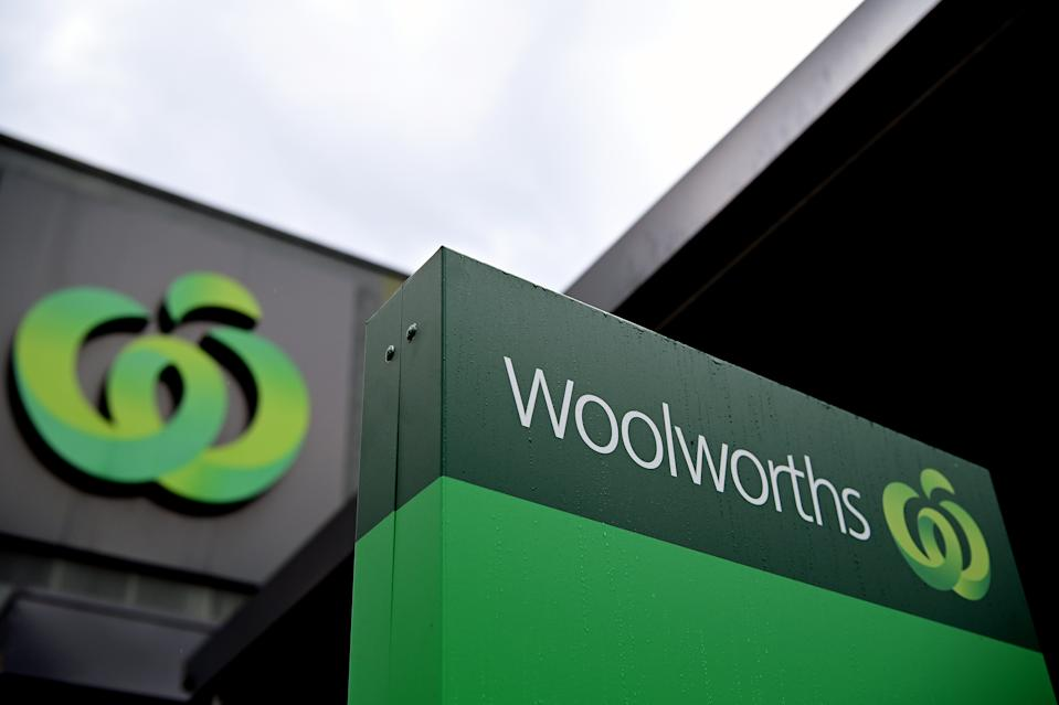 A Woolworths supermarket store pictured.