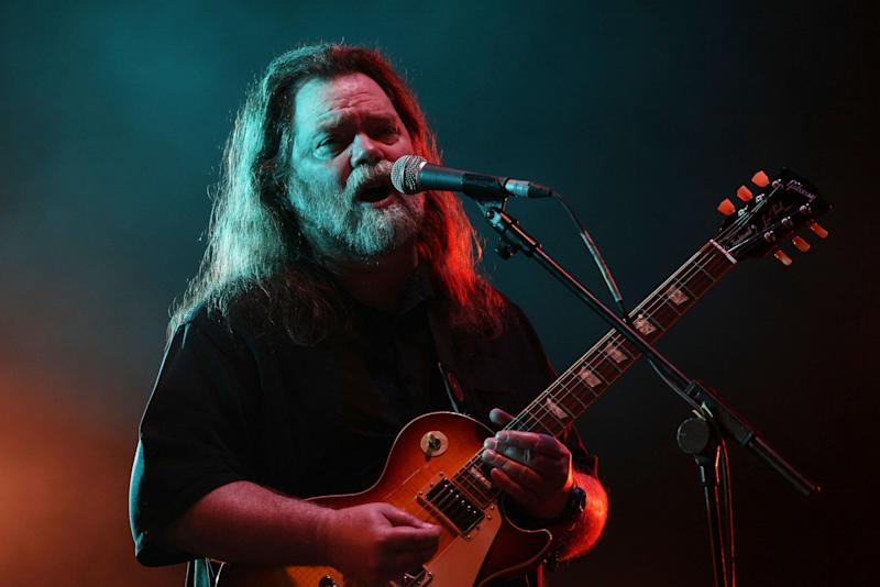 Roky Erickson performing on the Second Stage at the Wireless Festival in Hyde Park in central London. (Photo by Yui Mok/PA Images via Getty Images)