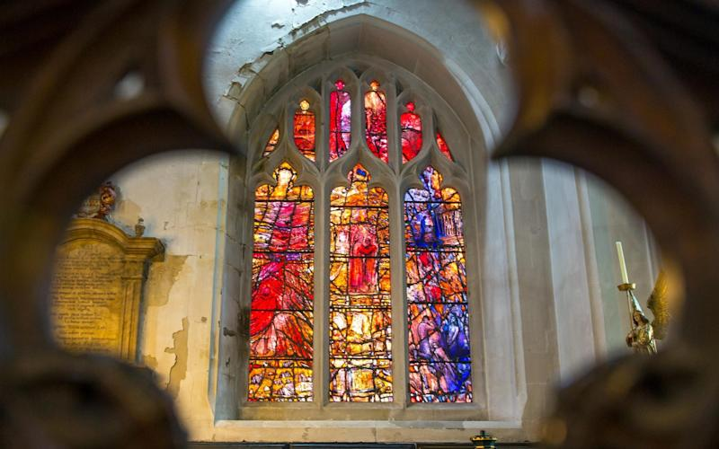 Leicester Cathedral's new windows - ©Stephen Daniels